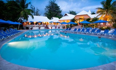 4- or 7-Night All-Inclusive Stay for Two at Smugglers Cove Resort & Spa in St. Lucia. Includes Taxes and Fees.