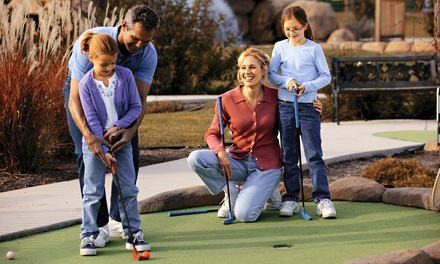 Mini-Golf Outing for Two or Four or Birthday Party for Up to 10 at Magic Greens (Up to 57% Off)