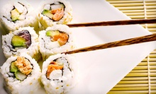Asian Food for Dinner on SundayThursday or FridaySaturday at Mr. Sushi (Half Off)