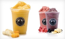 $15 for Three $10 Smoothie Vouchers at Smoothie Factory ($30 Value)
