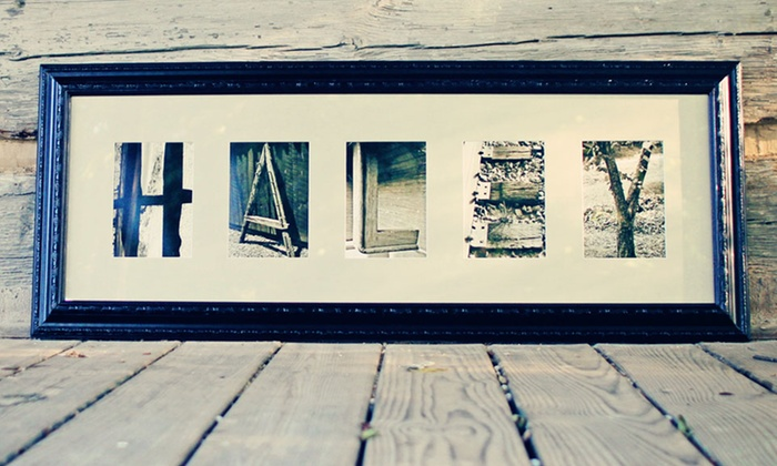 Nester for Custom letter art groupon