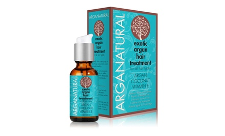 Arganatural Exotic Argan Hair Treatment; 4oz.