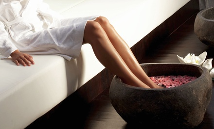 Two Spa Pedicures, or One or Two Spa Man-Pedis at Wellness Med Spa Cosmetics (Up to 62% Off)