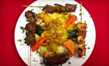 Moroccan Cuisine at Marrakech Cafe (Up to 55% Off). Four Options Available.