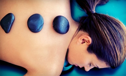One or Three 60-Minute Hot Stone-Fusion Massages or One Stress Fix Massage at Ra Salon & Spa (Up to 51% Off)