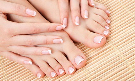 Gel Manicure with Either Regular or Spa Pedicure at Nail Boutique (Up to 41% Off)