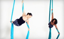 5 or 10 Aerial Fitness Classes at DEFY Aerial Fitness Studio (Up to 61% Off)