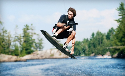$49.99 for a 60-Minute Private Wakeboarding Lesson at Wake Sessions ($100 Value)