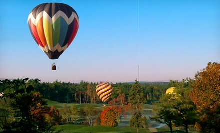 Hot Air Balloon Ride for Two or Four with Picnic and Champagne from A&A Balloon Rides, LLC (40% Off)