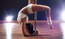 5 or 10 Pole-Fitness Classes at Haus of Angels Fitness (71% Off)