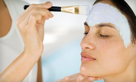 Glycolic Peel with Mask and Optional Anti-Aging Eye Treatment at Fountain of Youth Skin & Nail Spa (Half Off)