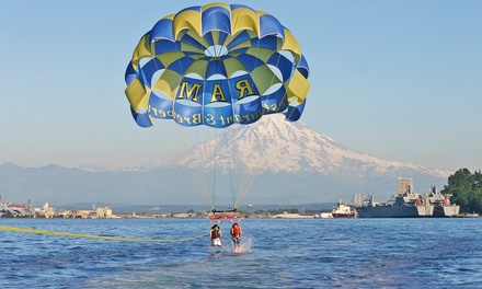 Parasailing Experience for One or Two with 25-Picture SD Card from Pacific Parasail (40% Off)