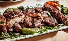 Mediterranean Cuisine for Two or Four at Arabian Nights Restaurant (Up to 58% Off)