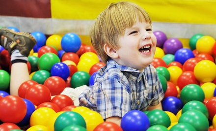 One or Two Months of Kids' Classes and Free-Play Sessions at My Gym (Up to 66% Off)