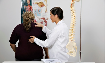 Exam, X-Ray, and Posture Treatment with Optional Exercise Plan at DC Chiropractic (Up to 90% Off). Two Options.
