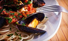 Lunch or Dinner for Two or Four, or $50 for $100 Worth of Catering at Sapore D'Italia Italian Ristorante and Pizzeria