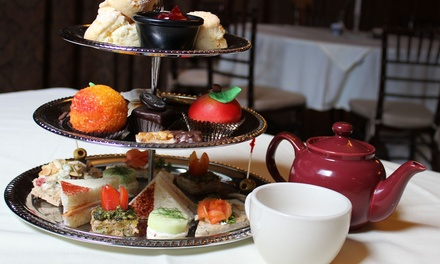 Afternoon Tea Experience for Two or Four With Optional Mimosas at Mozart's Cafe (Up to 38% Off)
