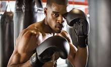 $39 for One Month of Unlimited Group Boxing Classes at Punch Boxing for Fitness ($99 Value)