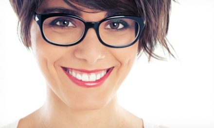 Eyewear, Contact Lenses, and Exams at Island Eyecare (Up to 93% Off). Three Options Available.