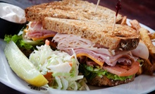 New York–Style Slices and Cafe Dinner for Two or Four at Uptown Cafe (Half Off)