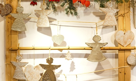 $19 for a BYOB Holiday Ornament-Making Class at The ClayGround Studio & Gallery ($40 Value)