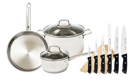 12-Piece WMF Cookware and Knife Set