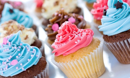 Gourmet Cupcakes and Custom Cakes at Yolanda's Specialty Cakes (Up to 55% Off). Three Options Available.