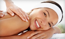 60-Minute Deep-Tissue Massage or 75-Minute Hot-Stone Massage at Unforgettable Nails (Up to 51% Off)