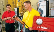 $25 for a $50 Gift Card at Golfsmith