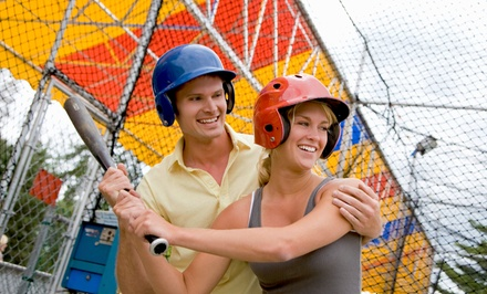 One, Three, or Five Half-Hour Machine Pitch Batting-Cage Sessions at Advantage Baseball (Up to 71% Off)