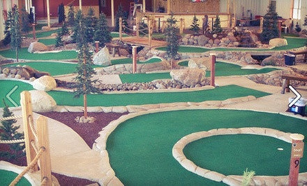 Round of Mini Golf for Two, or Package for Four with Pizza and Drinks at GolfZone (Up to 55% Off)