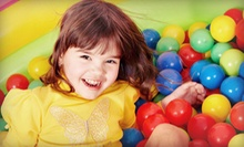 $190 for an Indoor-Playground Party Package with Invitations and Drinks for Up to 30 Kids at XPlore N Play ($390 Value)