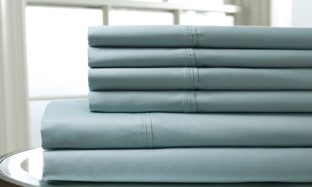 Luxury Manor 800TC 6-Piece Cotton-Blend Sheets Set from $29.99–$44.90