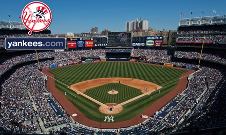 New York Yankees Game at Yankee Stadium (Up to 54% Off). Three Seating Options and Eight Games Available.