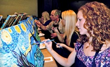 Three-Hour Painting Class for One or Two at Art Social (Up to 53% Off)