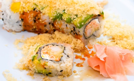 Sushi and Hibachi-Grill Cuisine at Soya (50% Off). Two Options Available.
