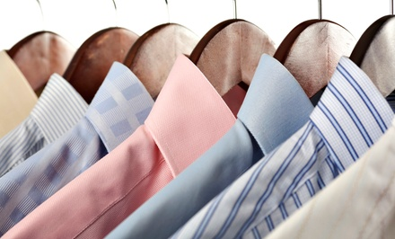 In-Store or Pickup and Drop-Off Dry-Cleaning Services from Village Square Cleaners (Up to 50% Off). Two Options.