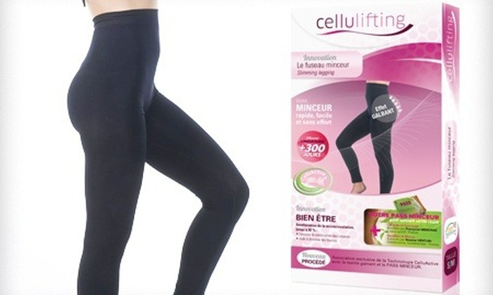 Groupon Goods Global GmbH: Leggins reductores con efecto anticelulítico Cellulifting por 19,90 €