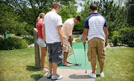 $13 for Four Rounds of Mini Golf at Pirates' Cove (Up to $26 Value)