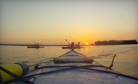 Sunset Kayaking Trip with a Picnic Dinner for Two or Four from Mahanaim Adventures (Up to 53% Off)