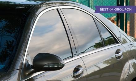 Automobile-Window Tinting at PolarizAuto (50% Off). Three Options Available.