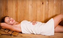 5 or 10 Infrared-Sauna Sessions or Ionic Detoxifying Footbaths at The Spa (Up to 62% Off)