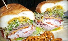 $5 for $10 Worth of Gourmet Sandwiches, Wraps, Soups, and Salads at Smacky's on Broadway
