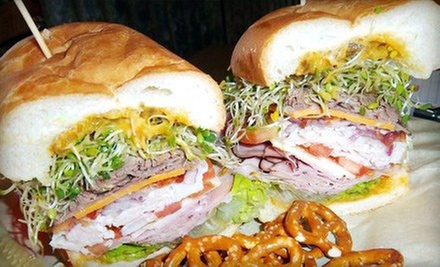 $5 for $10 Worth of Gourmet Sandwiches, Wraps, Soups, and Salads at Smacky&#x27;s on Broadway
