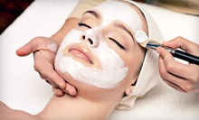 Facial Package with Regular Mani-Pedi, Single- or Double-Process Color, or Deluxe Mani-Pedi at Vanity Room (Half Off)