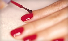 Gel-Polish Manicure or Spa Mani-Pedi with Paraffin Treatment at Nails at 101 (Up to 59% Off)