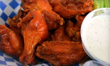 Wings, Sandwiches, and Cheesesteaks at Wingettes Famous Wings and Cheesesteaks (Half Off)