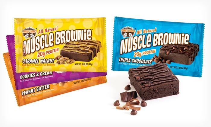 Muscle Brownie Bodybuilding Eat Brownies Get Muscles