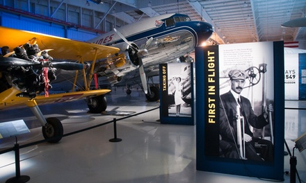Admission for One, Two, or Four to Carolinas Aviation Museum (Up to33% Off)