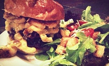 Burgers and Gastropub Cuisine at The House (Half Off). Two Options Available.